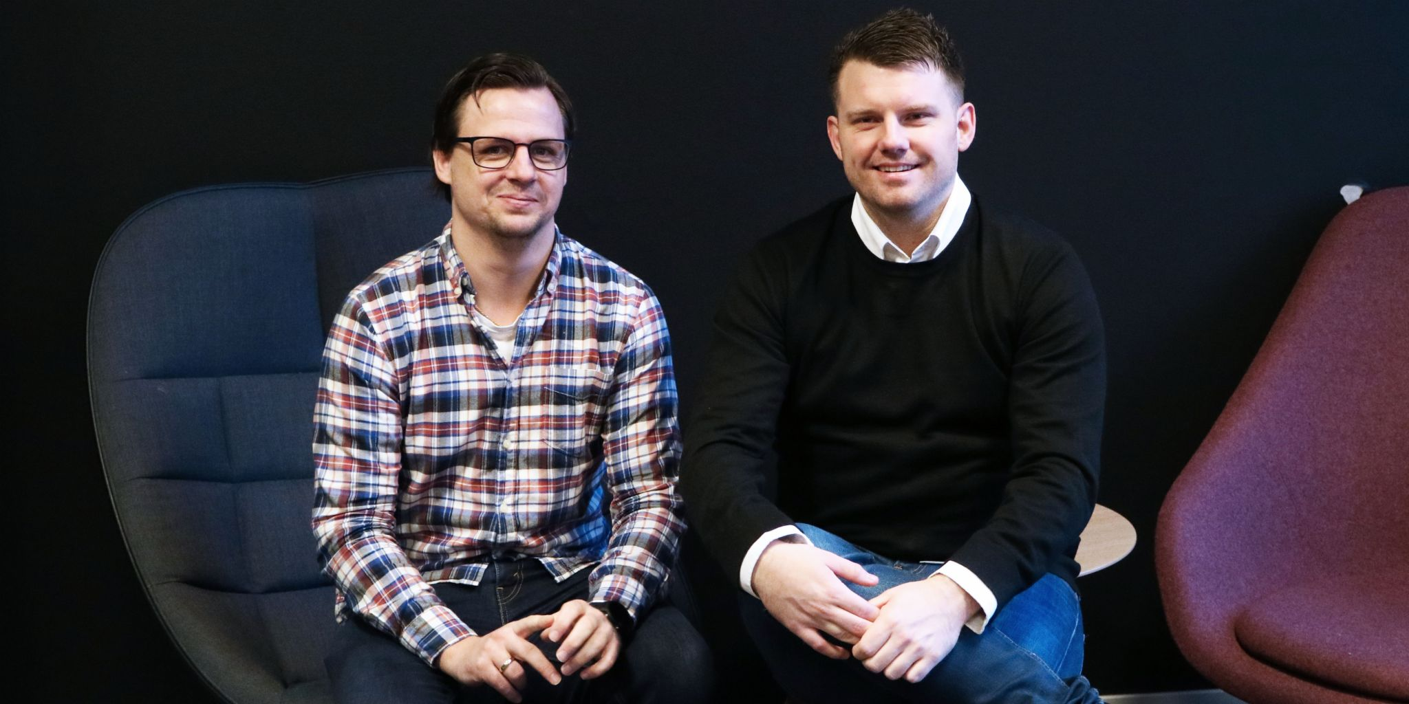 AI in customer service: Magnus Bødtger and Stian Ellingsen from Svea Finans