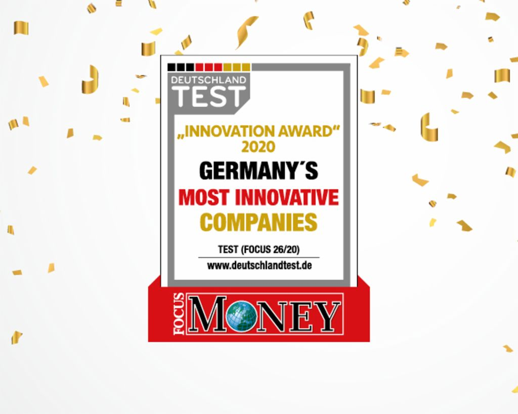 Every year, Focus and Focus Money magazines recognize the most innovative companies in Germany. In 2020, EOS Deutschland won an Innovation Award for its work in the receivables management sector.